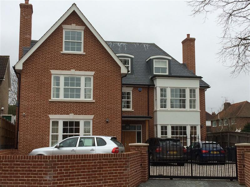 London new build 4 bedroom house refurbishment in for New build 5 bedroom house