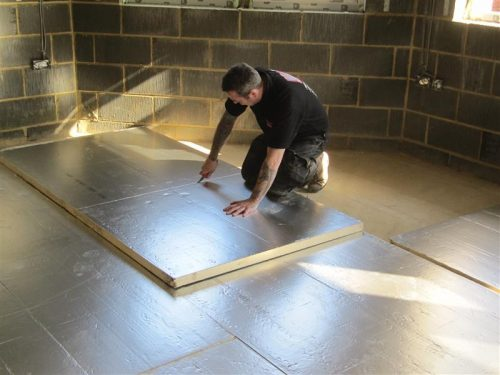 floor insulation in London and UK