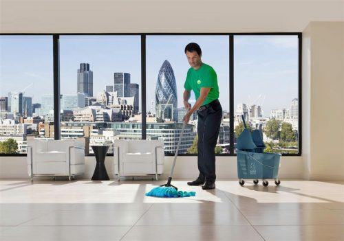 cleaning in London 1